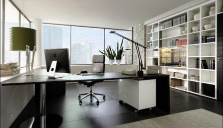 Натяжной потолок в офис 9,19 кв.м