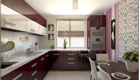 Натяжной потолок на кухню 10,5 кв.м