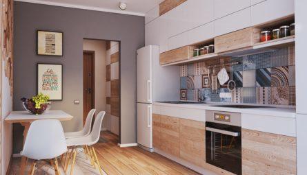 Натяжной потолок на кухню 9,2 кв.м