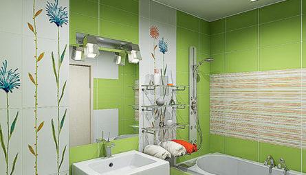 Натяжной потолок в ванной 3,5 кв.м